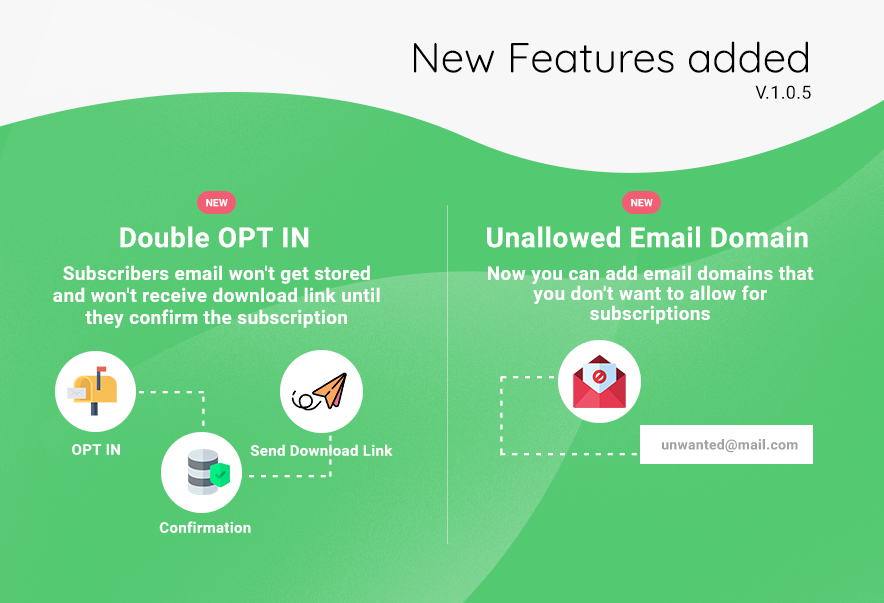 Subscribe to Download - An advanced subscription plugin for WordPress - 10
