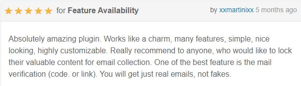Inscreva-se para desbloquear o Bloqueio de Conteúdo do Bloqueio de Conteúdo do Plugin WordPress - 22